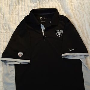 Nike Shirts - NFL Raiders Nike Dri-Fit Polo
